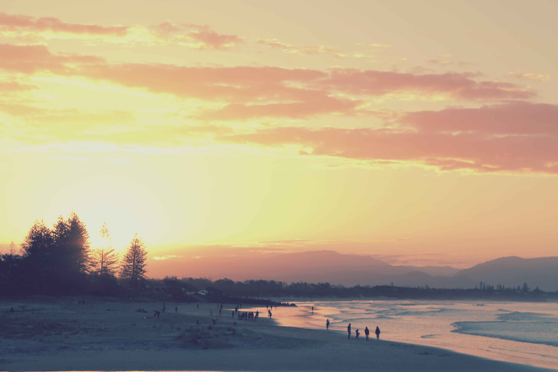 sunset byron